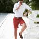 Vazol-Descubre los pasos para verte elegante en shorts-Hombre luciendo estilo elegante con pantalones cortos